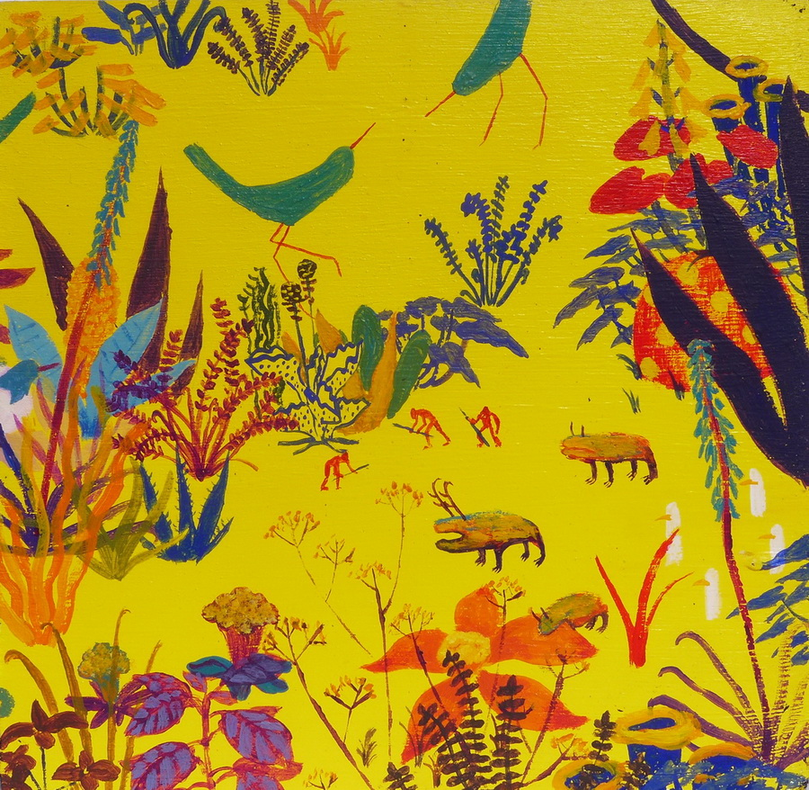 Alfred March Dominguez - Garden Delight, Španjolska