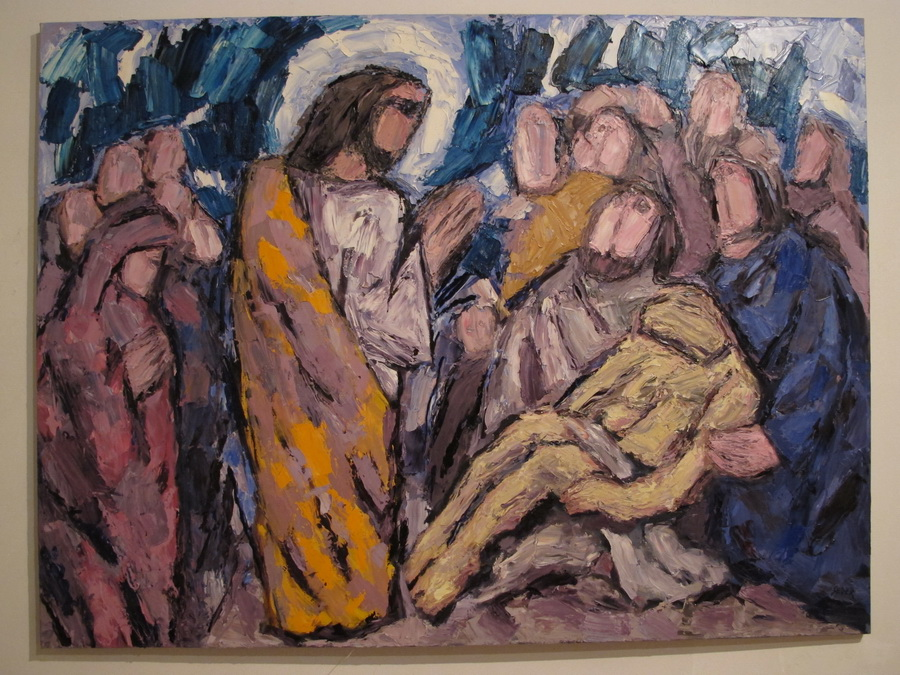 Đuro Seder - Isus ozdravlja, 2013.