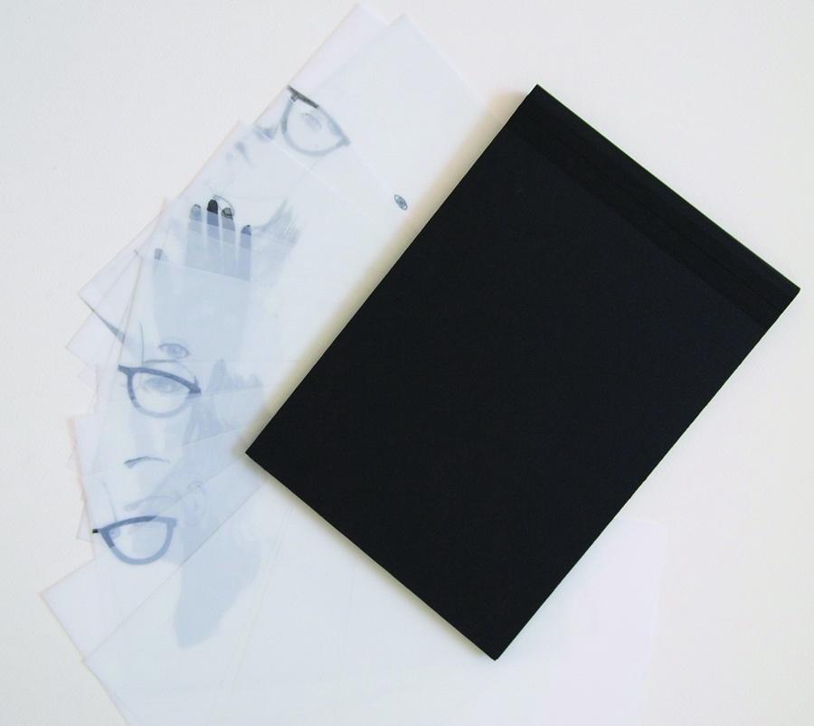 IVA ŠINTIĆ - Zapravo sam htjela pričati o prostoru, 2017., knjiga-crteži: tuš/olovka/akvarel, 17x25,5cm