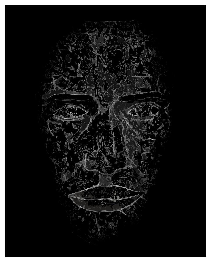 SVEBOR VIDMAR - Zrcaljenje 3, 2017., digitalna grafika, 39x31,5cm