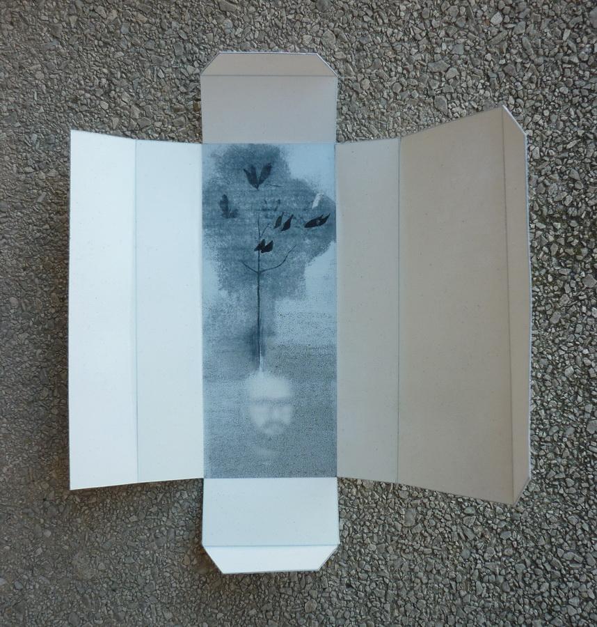 ZORAN KAKŠA - Cruel and Tender, 2017., grafika: drvorez/linorez/print, 16x15cm