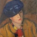 Žena sa šeširom, 1945.