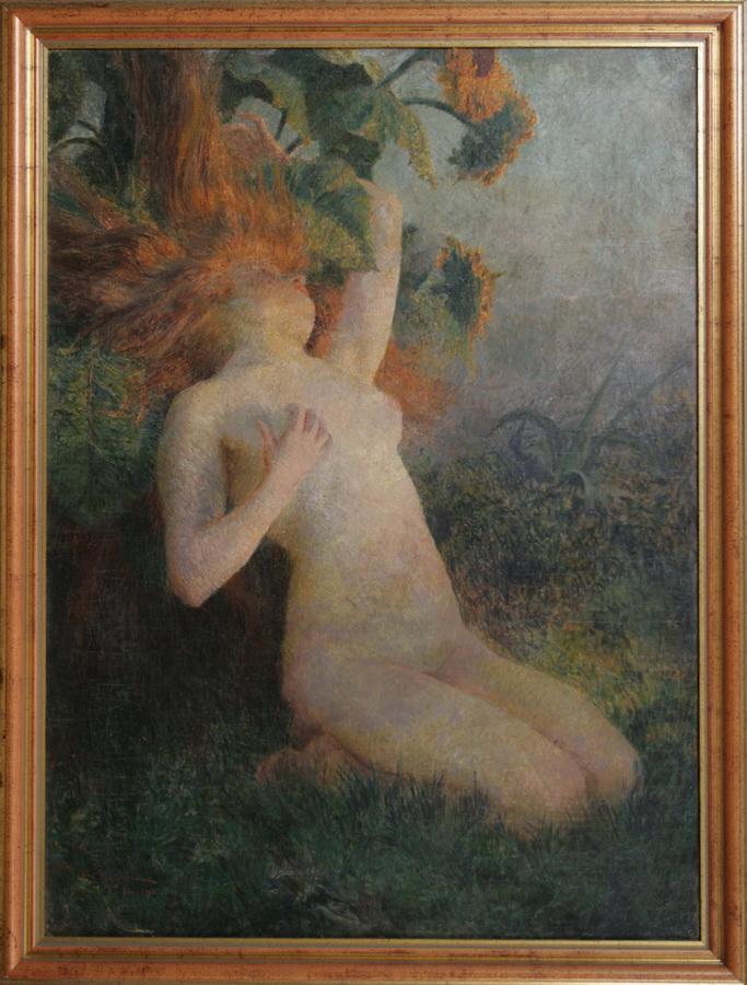 Vlaho Bukovac, Klitija (Sunčanica), 1902.