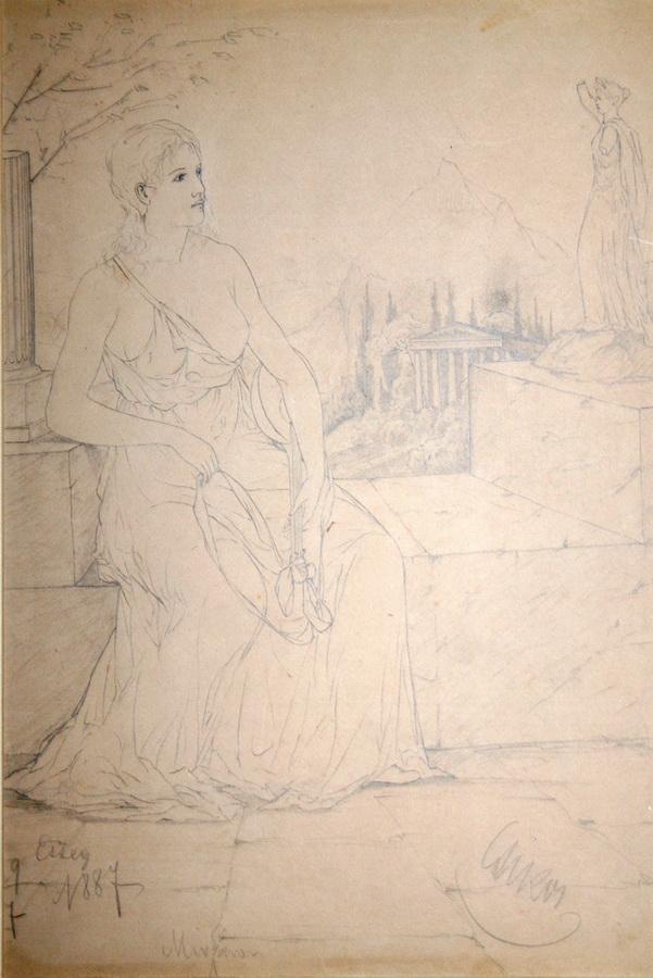 Bela Čikoš Sesija - Mignon/Rimljanka, 1887.