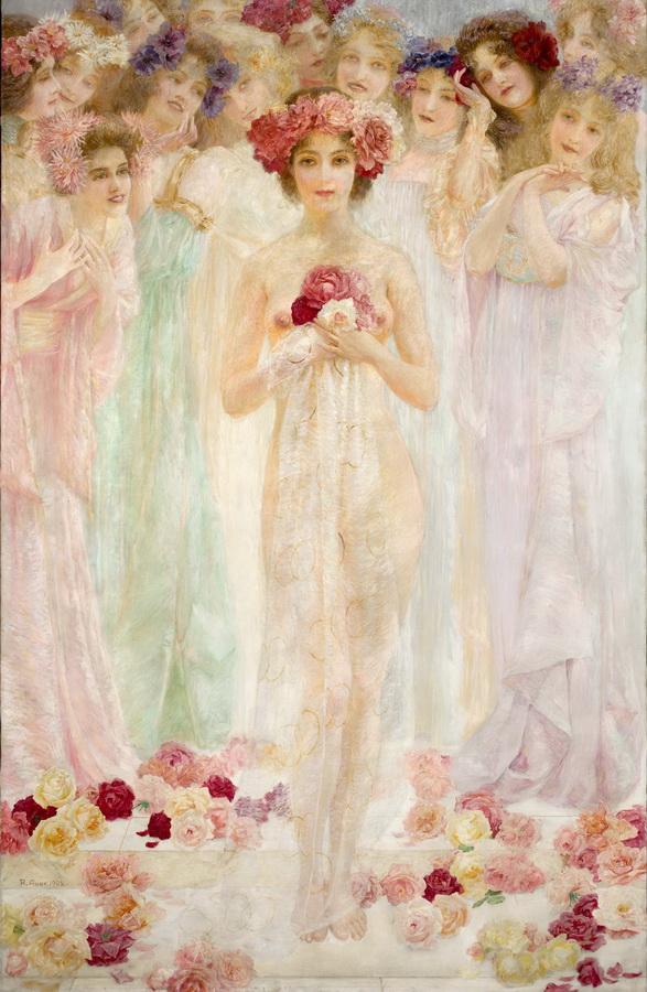 Robert Auer - Kraljica ruža, 1902.