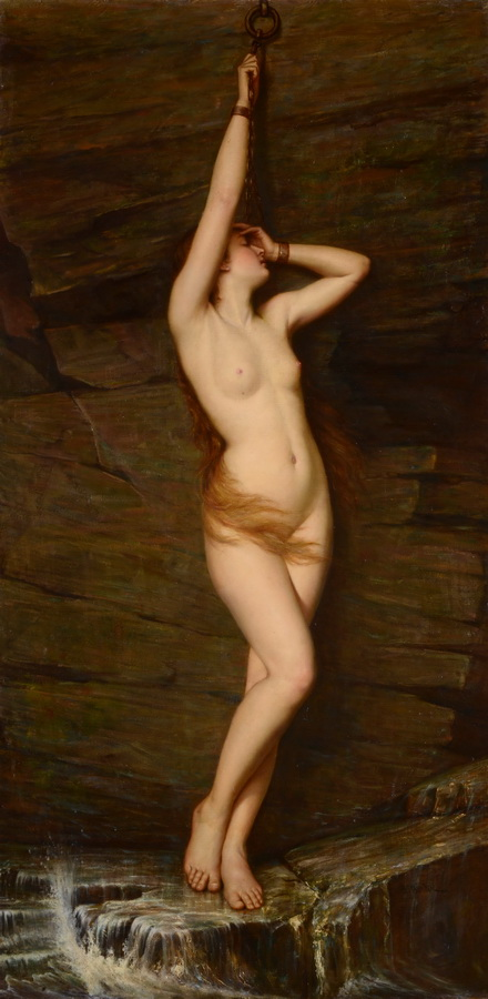 Vlaho Bukovac - Andromeda, 1885.-1890.