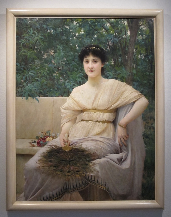 Vlaho Bukovac - Mlada Patricijka, 1890.