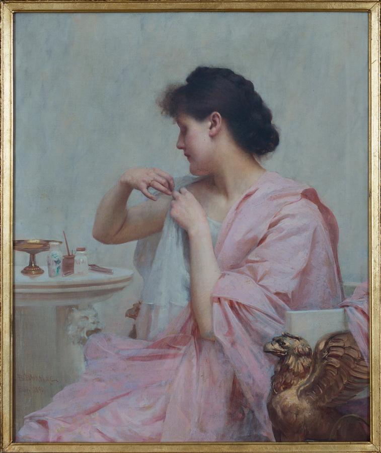 Vlaho Bukovac - Patricijka II, 1890.