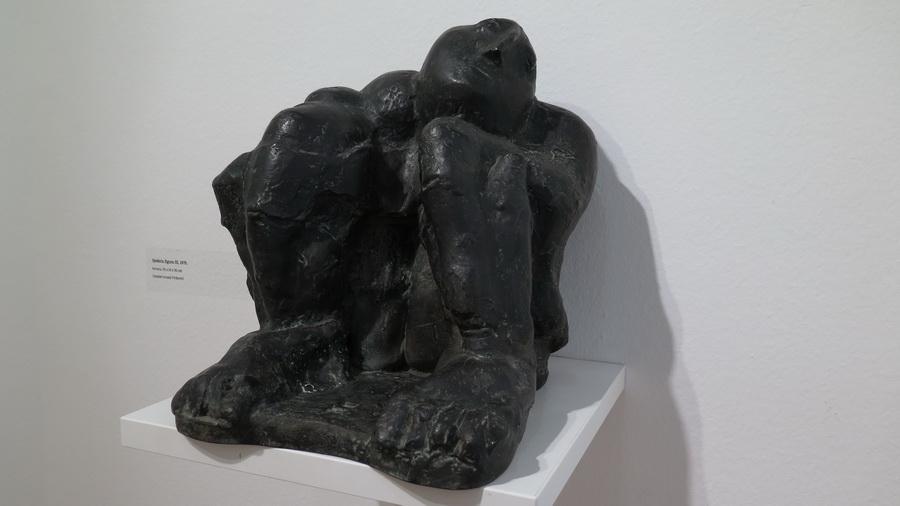 Sjedeća figura III, 1976.; bronca