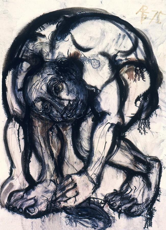 Lov na skakavce, 1978.; monotipija