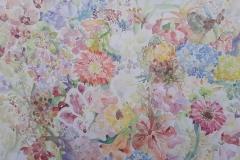 Summer extasy - akvarel, 50x70cm, 2020.