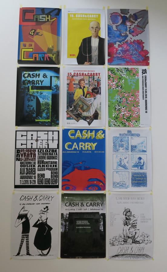 15. Cash&Carry - plakati
