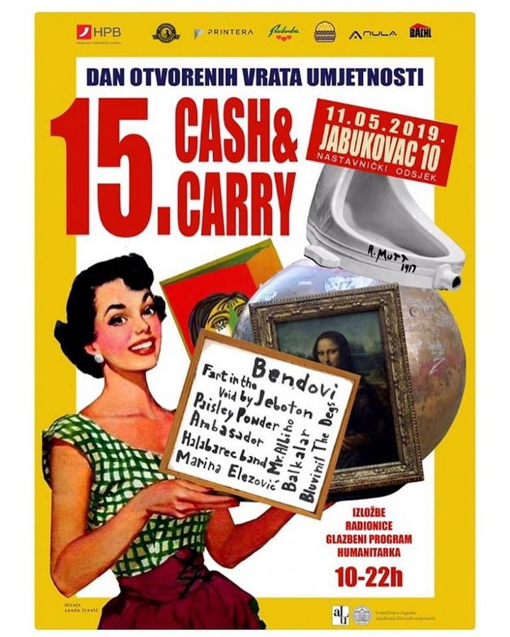 15.Cash&Carry - plakat