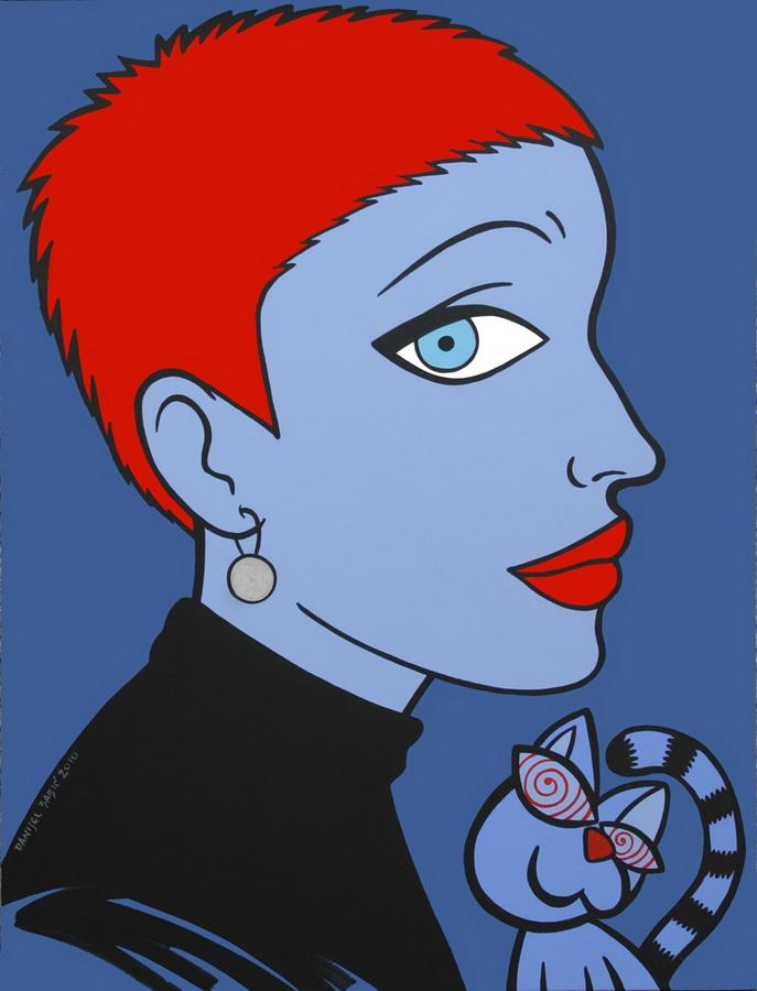 Korina Gubik, 2010, 80x60 cm, acrylic on canvas