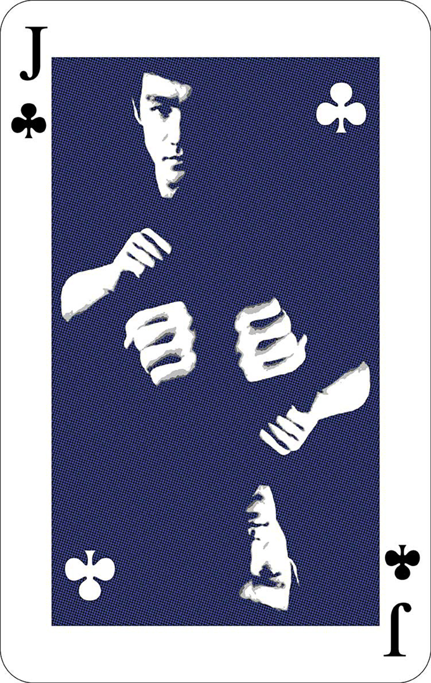 Card (Bruce-Lee), digital print