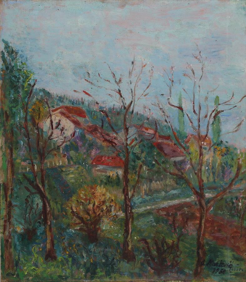 Anica Muačević-Reizer - Giznik, 1951., ulje na kartonu, 62x55.jpg