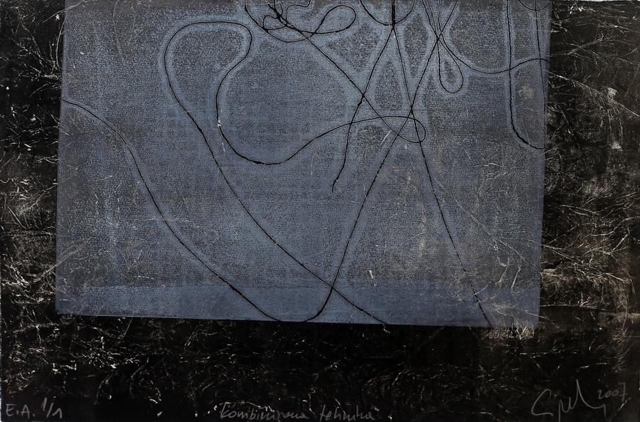 Maja Cipek - Bez naslova, 2007. (iz grafičko-pjesničke mape Ljeto u Samoboru), kombinirana tehnika, 39x26,5cm.jpg