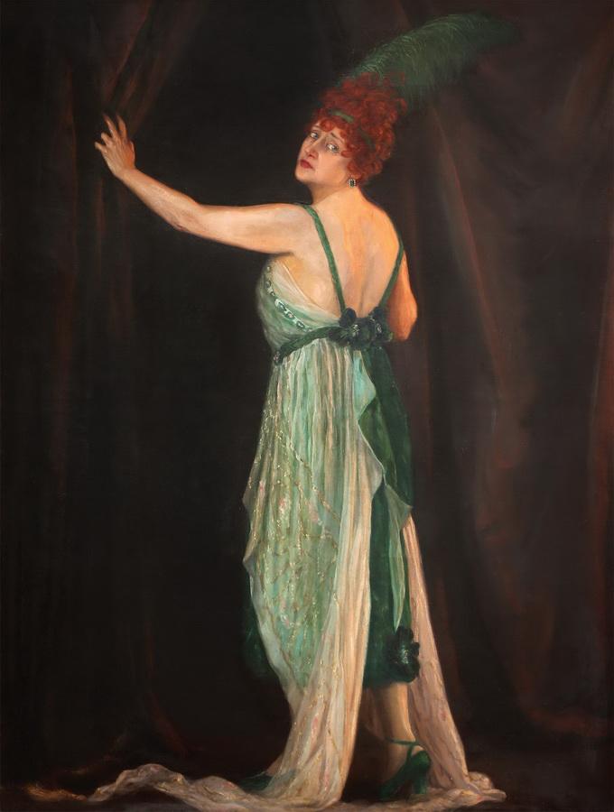 Nasta Rojc - Maja Strozzi - Pečić, 1921., ulje na platnu, 174x140.JPG