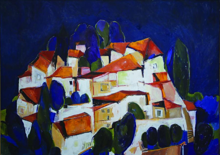Tatjana Antolin - Bez naslova, 2007., ulje na platnu, 93x123.jpg