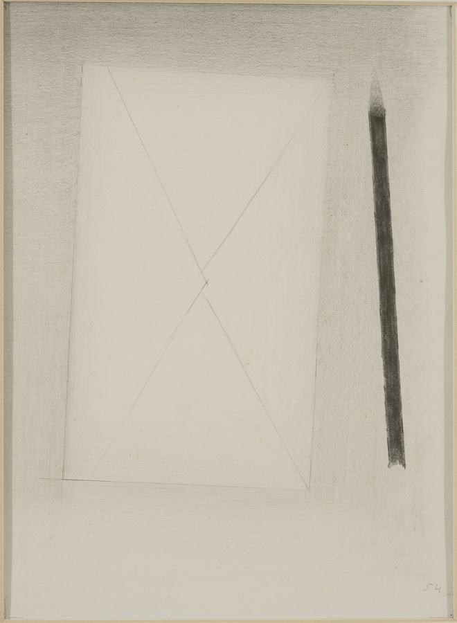 Josip Vaništa - Pismo i olovka, 1954.