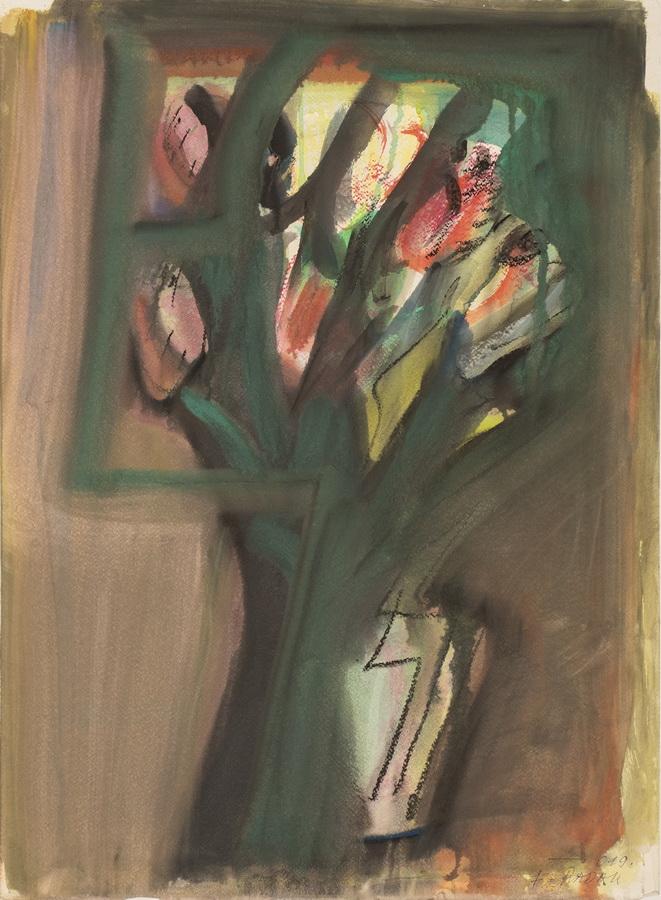 Frane Radak - Buket tulipana, 2019.