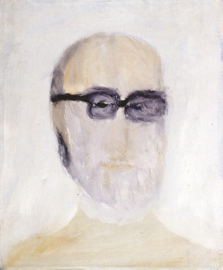 Autoportret, 1987., pastel papir, 33x27cm
