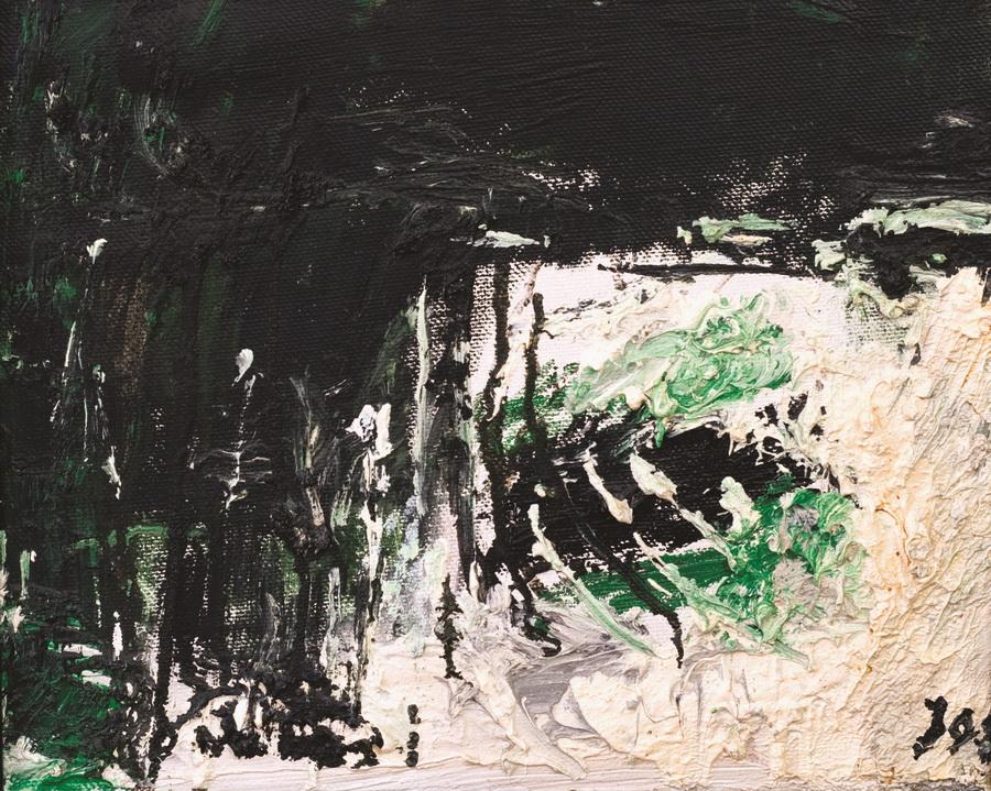 Jabuka (1143), 1998., ulje, platno, 35x42cm