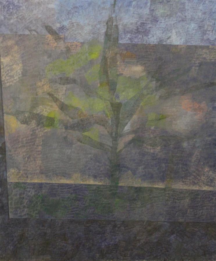 Odraz, 2012., ulje na mediapanu, 100x70