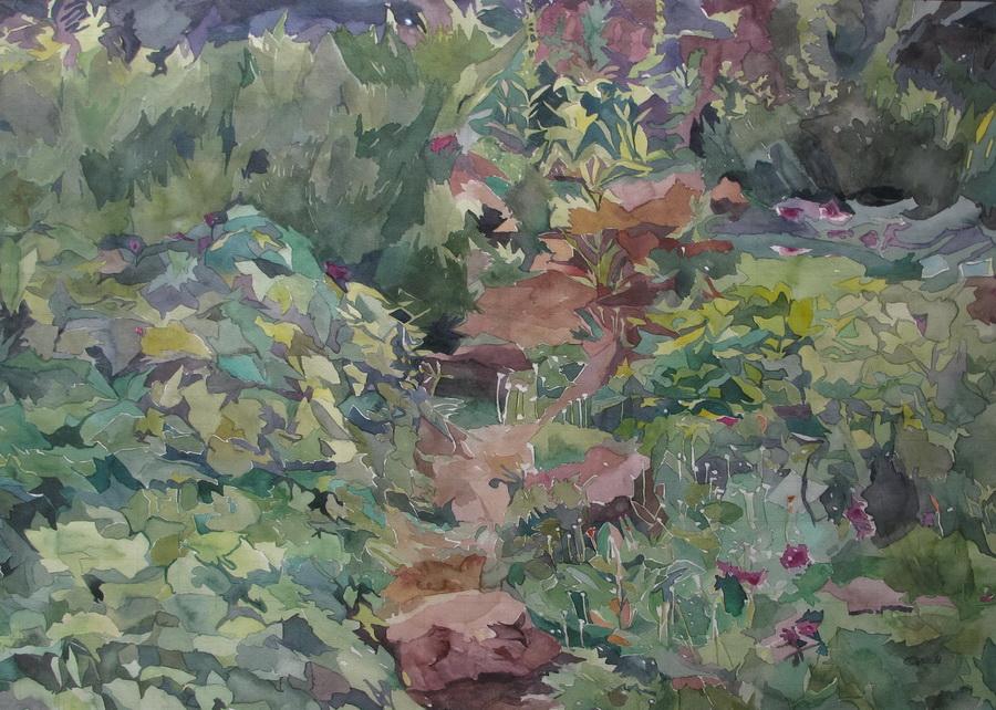 Put, 2014., akvarel na papiru