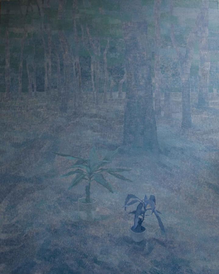 Isto, 2011., ulje na platnu, 120x150