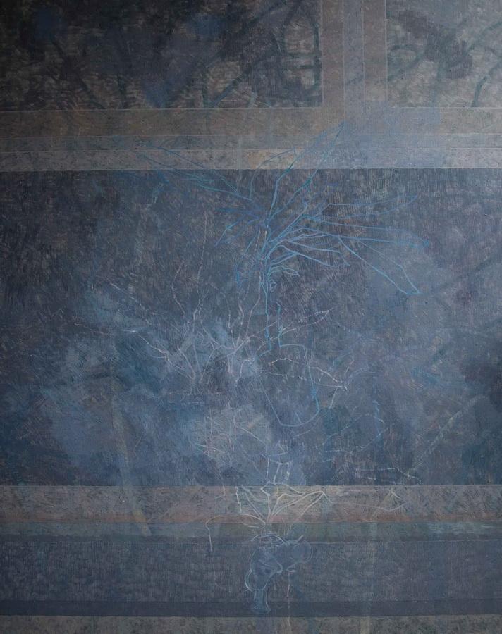 Osobni prostor, 2011., ulje na platnu, 120x150