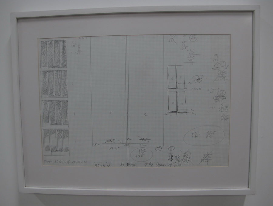 Skica 15/16.5.1990., olovka na papiru