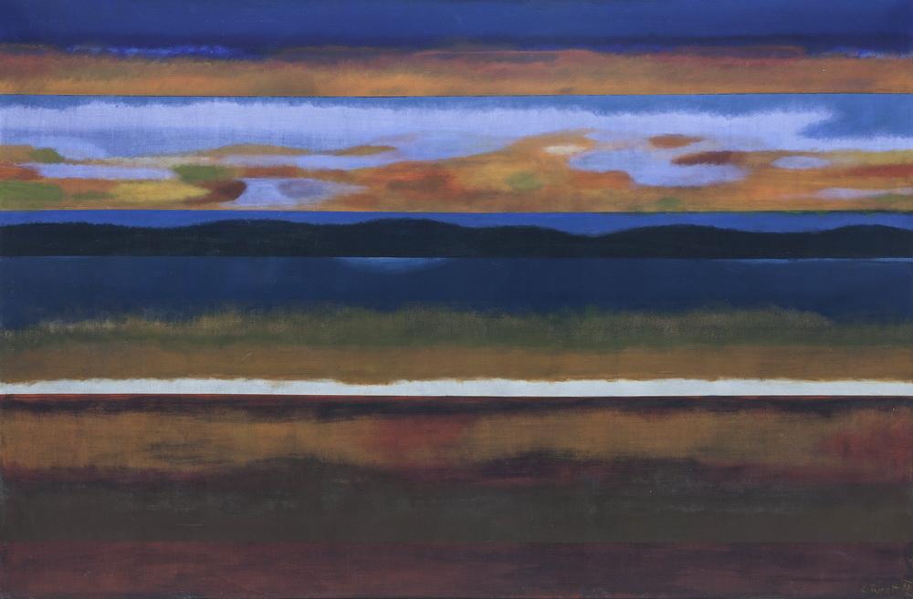 Večernji krajolik, 2009.