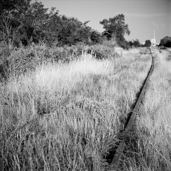 Railway From My Childhood (Vukovar, 2000.)