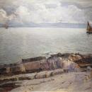 Pogled na Krk, oko 1905.-1910.