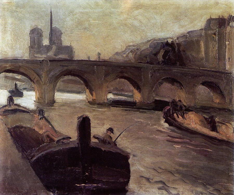Most na Seni, 1911.