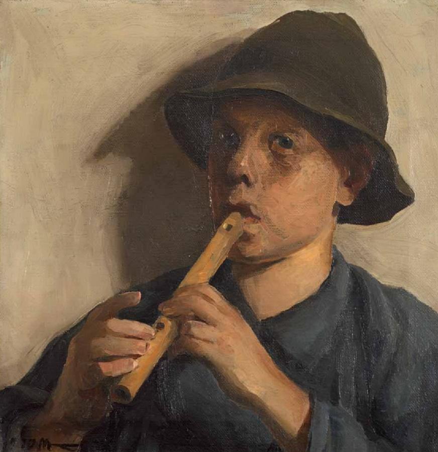 Dječak sa frulom, 1910.
