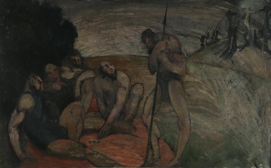 Golgota, 1912.