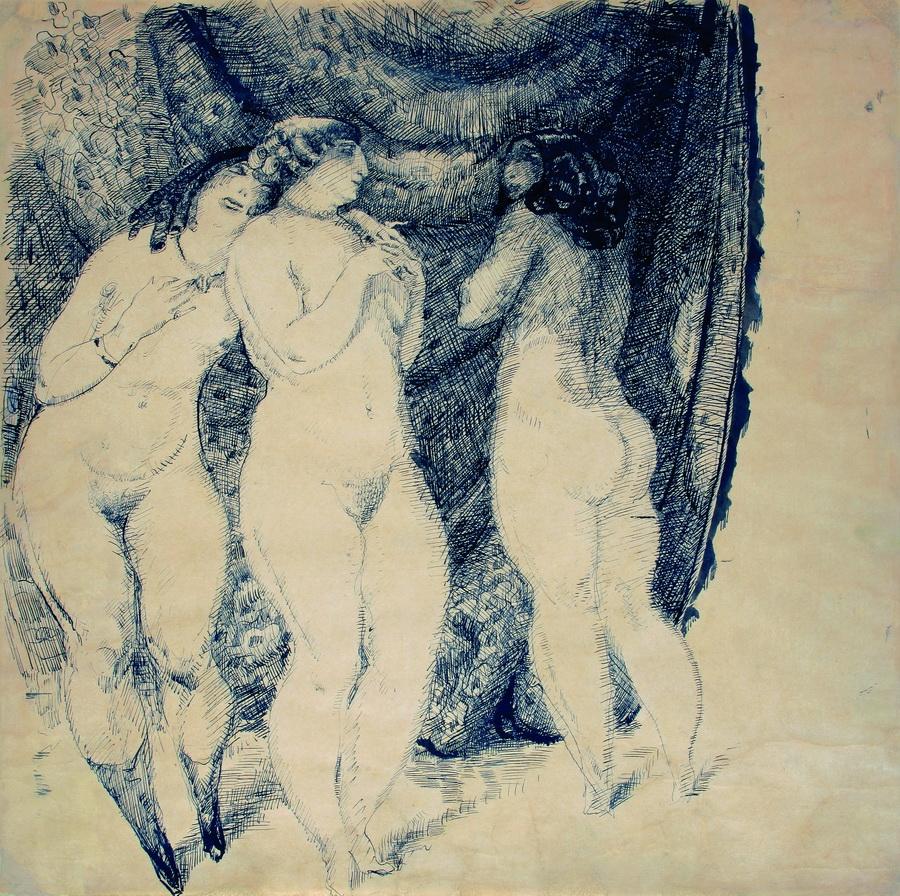 Tri gracije, 1912.