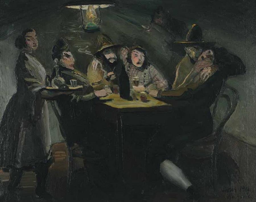 U gostionici (Vive la joie), 1912.