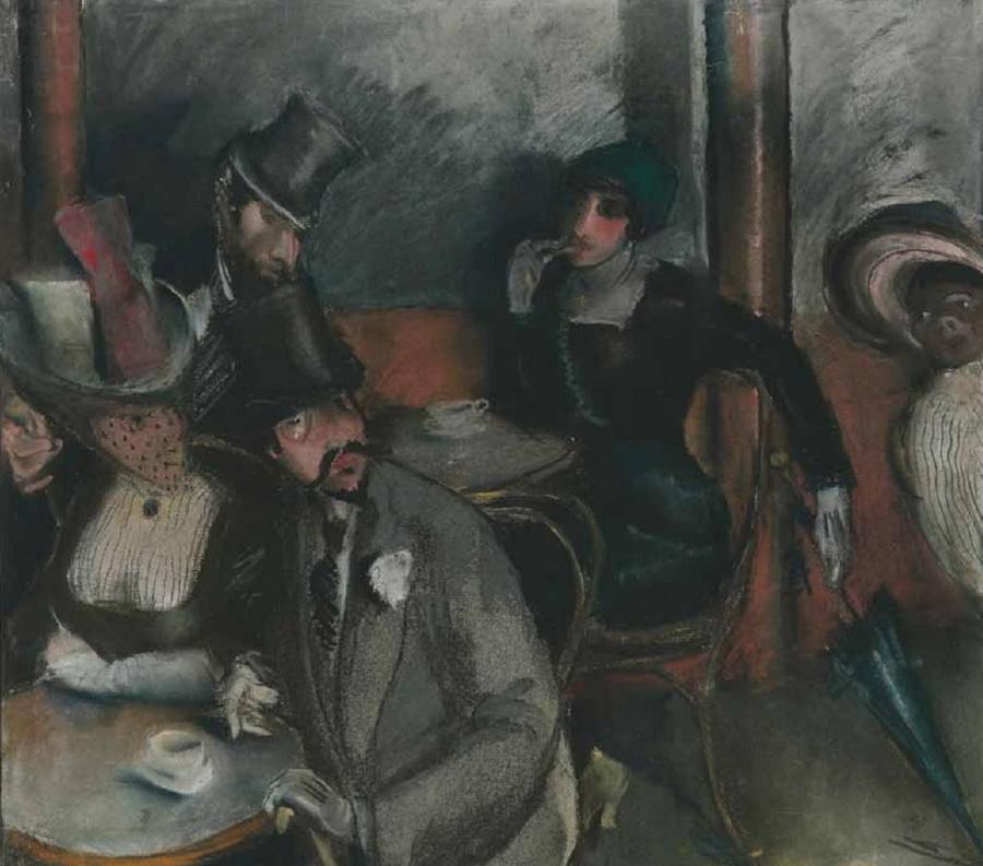 U pariškoj kavani, 1912.