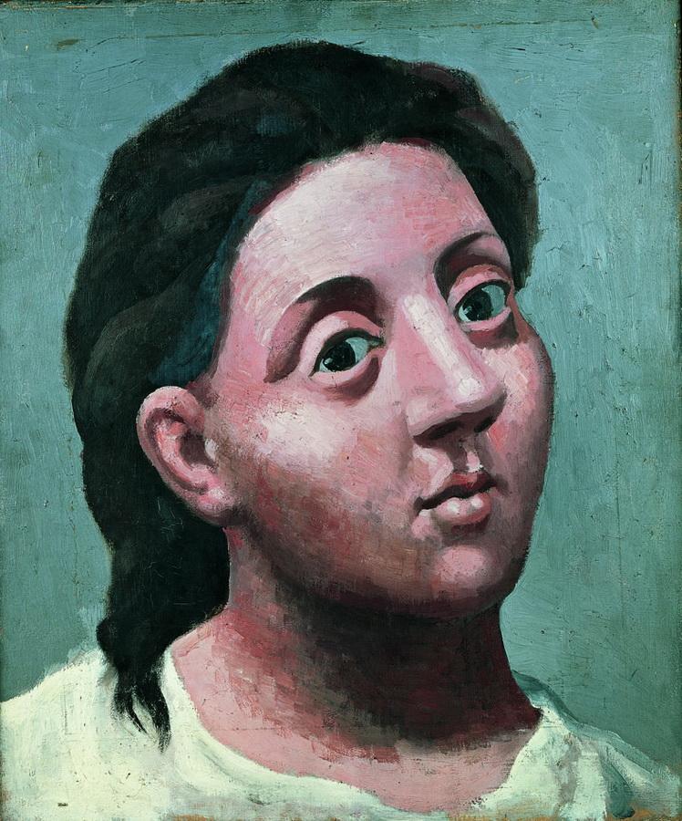 Glava žene, Pariz, 1921.