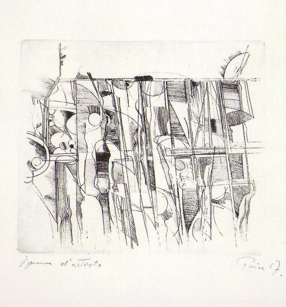 Plodovi zemlje, 1967., bakropis, akvatinta u boji