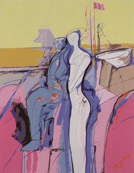 Tarski ciklus- Kompozicija, 1982., serigrafija